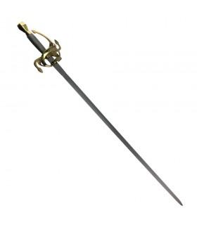 Rapier espada, do século XVII