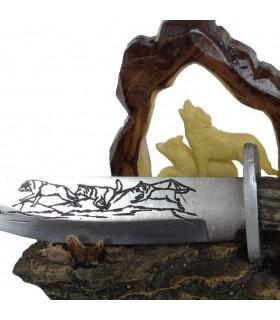 lobos faca decorativos