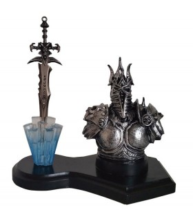 Figura Warcraft Lich King e Espada