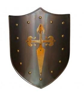 Cruz Escudo santiaguista latonado