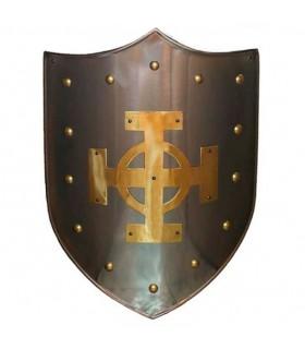 Celtic Escudo Cruz bronzeado