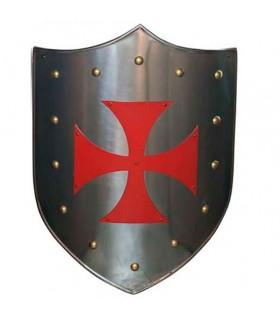 Cruz Vermelha Templar escudo
