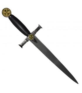punhal com bainha Templar