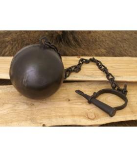 Manilha com corrente e bola