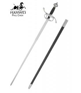 espada Renaissance para a prática