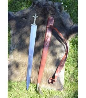 espada longa Celta com bainha