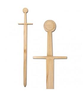 espada de madeira medieval