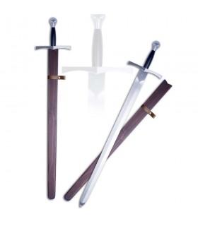 espada medieval funcional com bainha