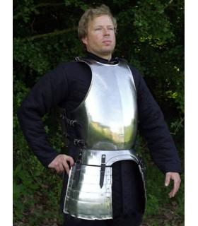 Peito e costas com bolsas, do século XVI