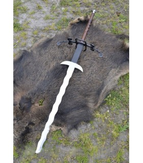 Espada Flamejante 2 mãos, 147 cms.