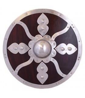 Viking madeira escudo e aço
