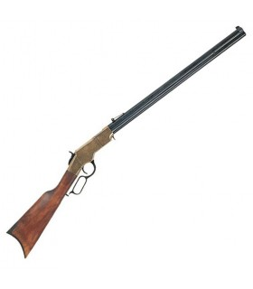 Henry Rifle de cano ortogonais, EUA guerra civil, 1860 (111 cms.)