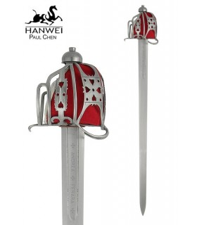 cesta espada Inglês, s. XVII-XVIII
