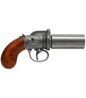 Pimentero revólver 6 armas