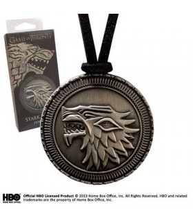 Stark escudo pendant, Game of Thrones