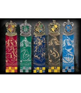 Set 5 marcapáginas Harry Potter
