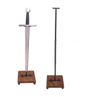 suporte vertical de espada