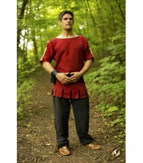 túnica sem mangas medieval