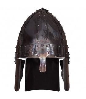 capacete romano spangenhelm, do século IV dC