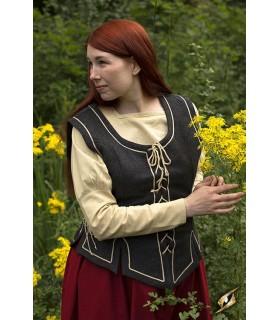 Zuria mulher vestido medieval