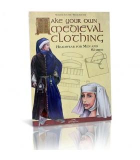 Medieval Livro Acessórios Cabeça
