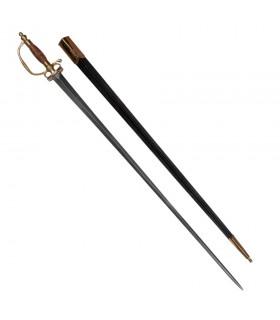 Espada o espadín europeo, s. XVIII