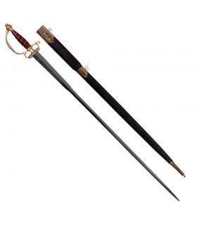 espada Europeia com bainha, do século XVIII