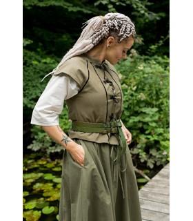 Tristan mulher colete medieval