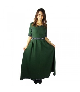 Enin mulher vestido medieval
