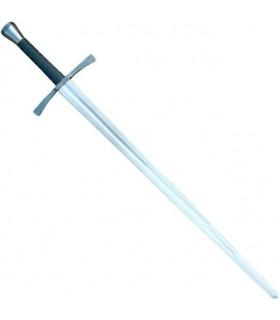 Mão e uma luta de espadas meia, de luxe