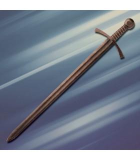 Espada medieval Acre combate 1 mano, afilada
