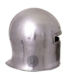 Bacinete Houndskull funcional, 1390