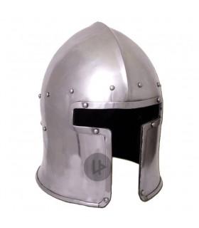 Barbuta italiano funcional, ano 1440