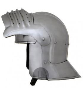 nasal italiano capacete funcional, s. XII