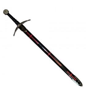 Templários espada com bainha