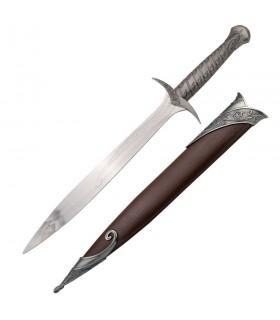 faca fantástica, 66 cm de comprimento.