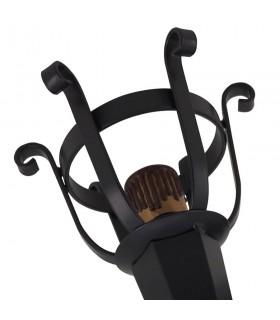 Aplicar tocha de ferro forjado, uma Luz