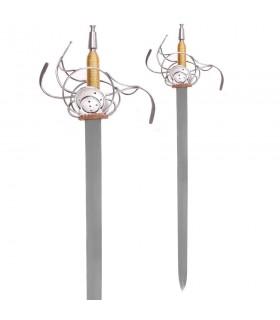 Alemão do século XVII Rapier Espada