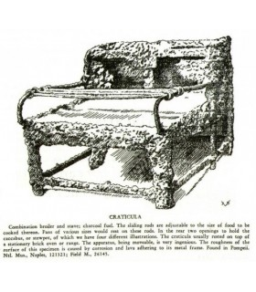 Roman grelhado-Craticula