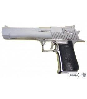 niquelado pistola semi-automática EUA, Israel 1982