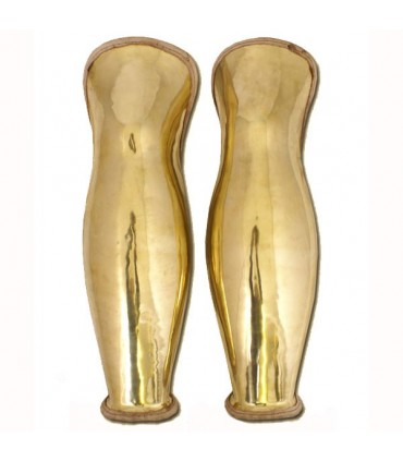 Greaves bronze espartano