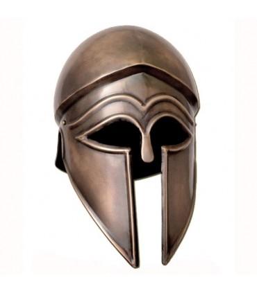 capacete italo-Corinthian, acabamento antigo