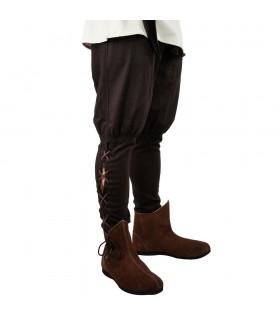 Pantalón Vikingo en lana marrón