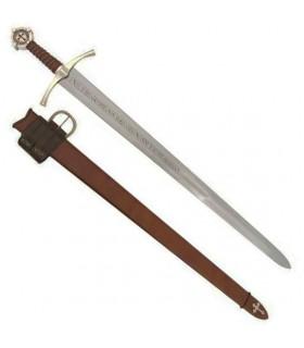 espada Accolade Cavaleiro Templário