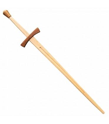 Espada mãos práticos de madeira 2