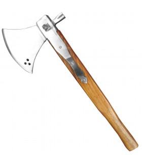 Battleaxe com martelo