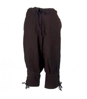 calças de lã Brown Viking