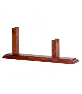 Soporte madera para revólveres