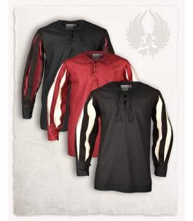 Camisa Toennes Preto-creme