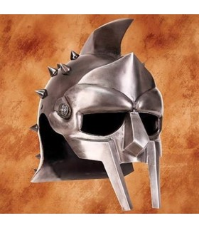 Capacete de Gladiador Romano com espinhos